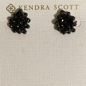 Kendra Scott Prototype studs in GM & Black Drusy
